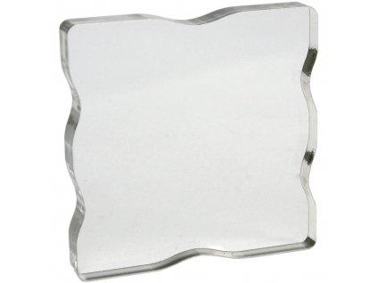 Akrylátový bloček pro silikonová razítka 7,6 x 7,6 cm
