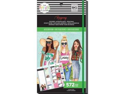 Samolepky + bločky Happy Planner Accessory Book Rongrong - Seasonal