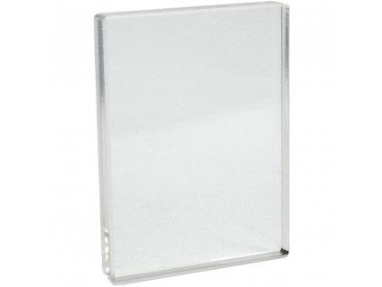 Akrylátový bloček pro silikonová razítka 7,6 x 10 cm