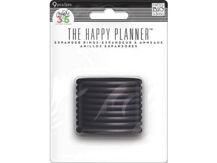 Spojovací disky do diáře Happy Planner 4,4 cm - Black