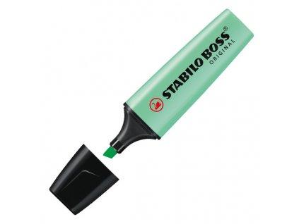 zvýrazňovač stabilo boss pastel pastelová zelená