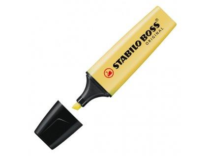 zvýrazňovač stabilo boss pastel žlutý