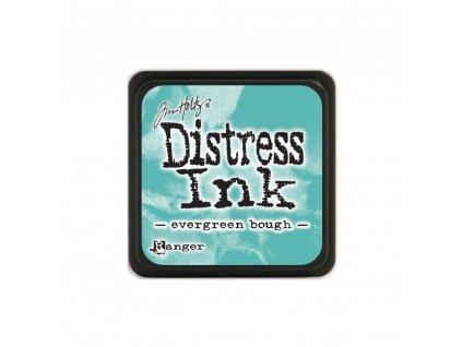 Razítkovací polštářek Distress Mini - Evergreen Bough