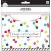 Nalepovací kapsy do diáře Happy Planner - Multi Dot