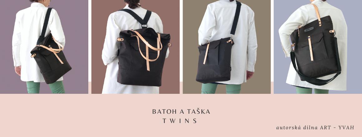 TWINS TAŠKA A BATOH 2