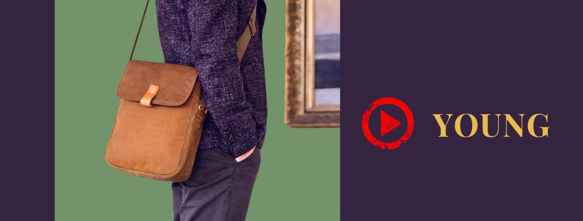 pánská taška přes rameno YOUNG