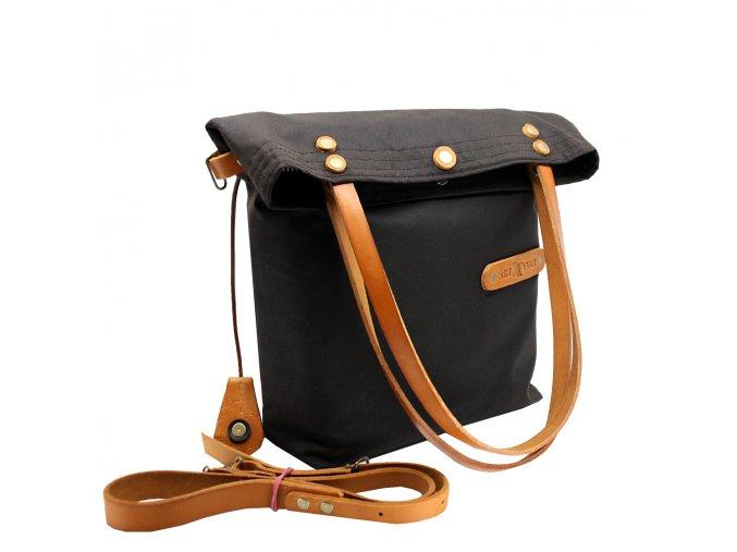 waxed bag MARILYN brown 4