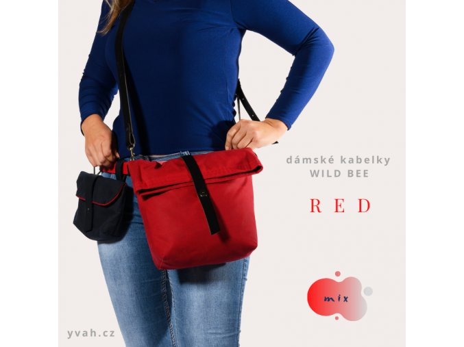 kabelka WILD BEE RED