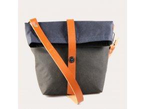 kabelka WILD BEEzeleno modrá