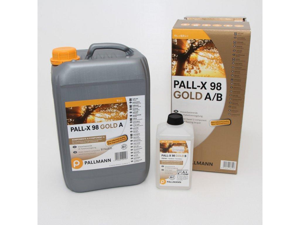Pallmann Pall-X 98 Gold MAT-  5l + 0,5l