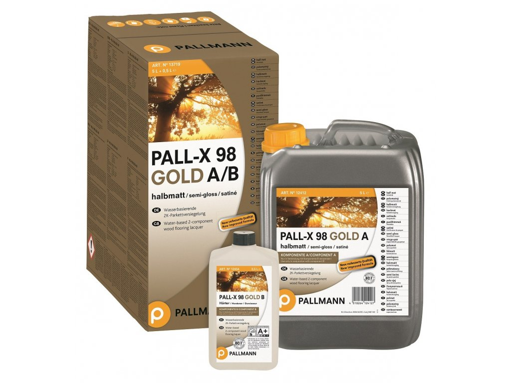 Pallmann Pall-X 98 Gold POLOMAT - 5l+0,5l