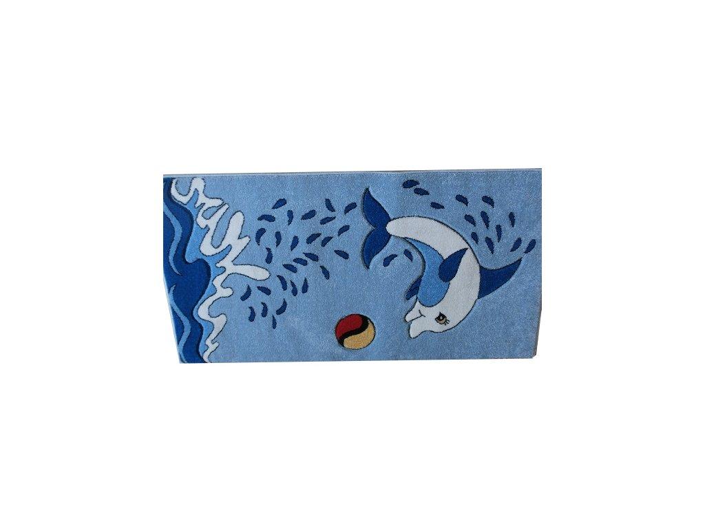 FRIESE - C206, Modrý Delfín, 120 x 170cm