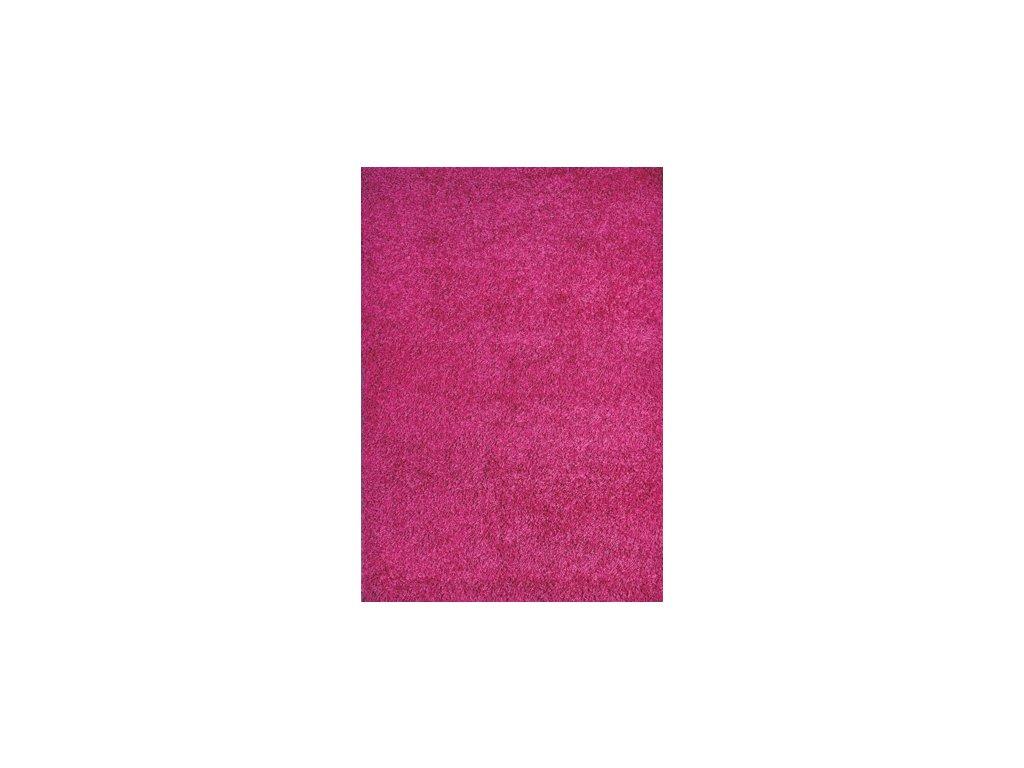 EXPO SHAGGY, 80 x 150 cm, barva 5699-322 tmavě růžová, výška vlasu 30mm