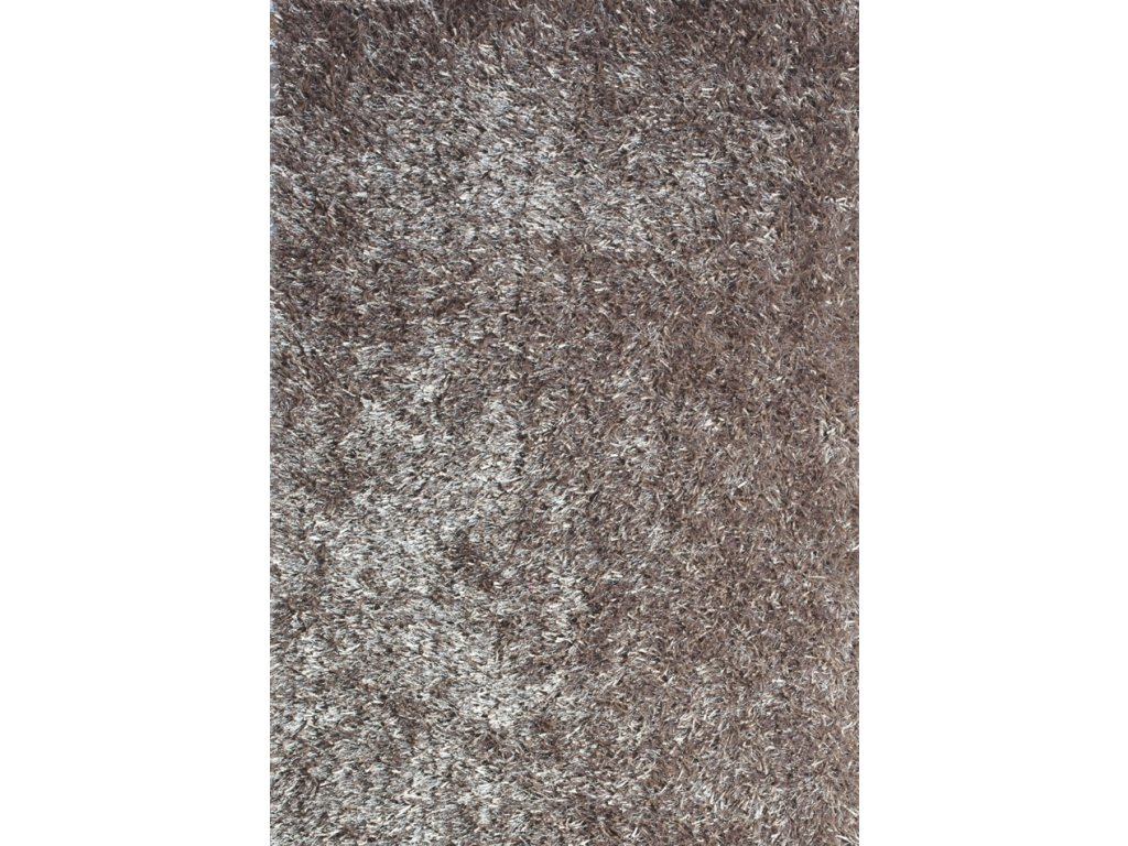 LILOU 80 x 150 cm, barva TAUPE šedá, výška vlasu 35mm - doprodej
