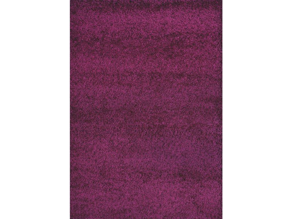Shaggy Plus 160 x 230 cm, barva 957 purple