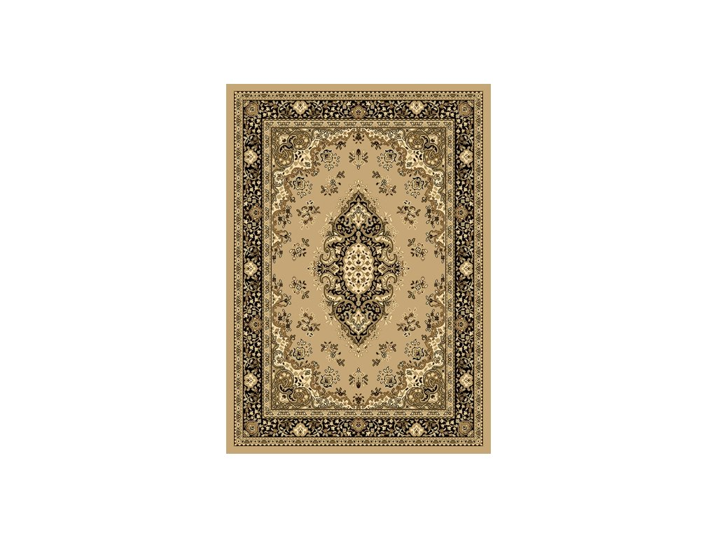 SAMIRA NEW 60 x 220 cm, barva 12001-050 béžová, perský vzor se středem - doprodej