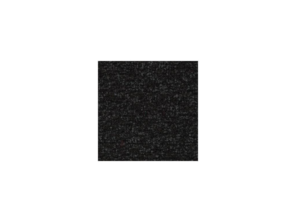 CORAL Classic 4730 raven black-čistící zóna, 100% PA š. 2.05bm včetně gumového okraje