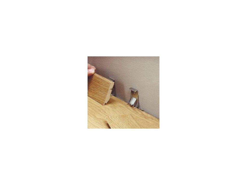 QUICK-STEP Clip systém pro soklové lišty 58*12/90*18