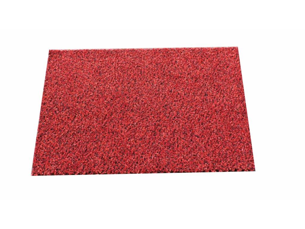Rohožka CORAL Brush- 100% PA, červená, 0,38 x 0,60 m DOPRODEJ, poslední kus