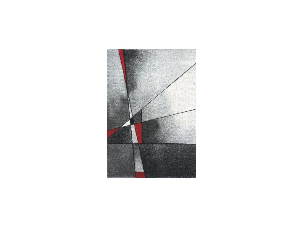 Spoltex Brilliance 21807/951 grey/red