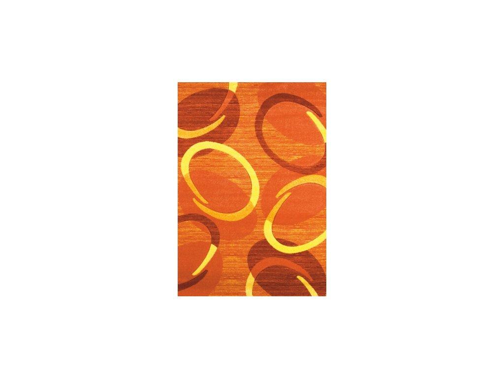 Spoltex Florida orange 9828 Oranžová