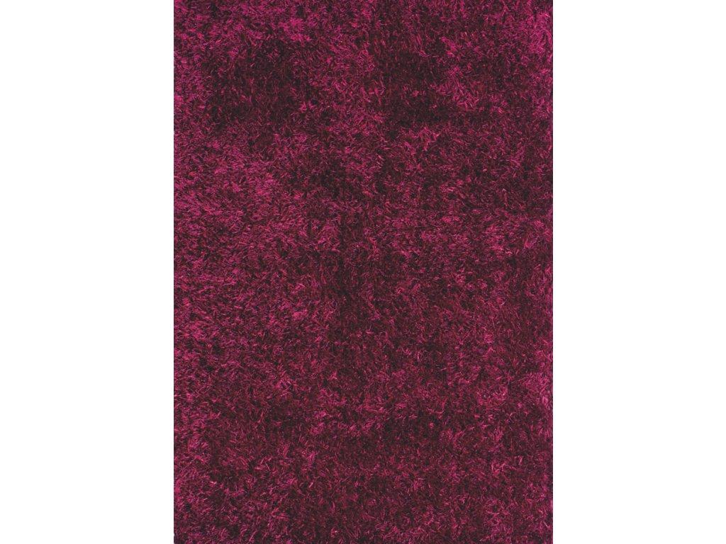 LILOU 80 x 150 cm, barva FRAMBOISE, výška vlasu 35mm - doprodej