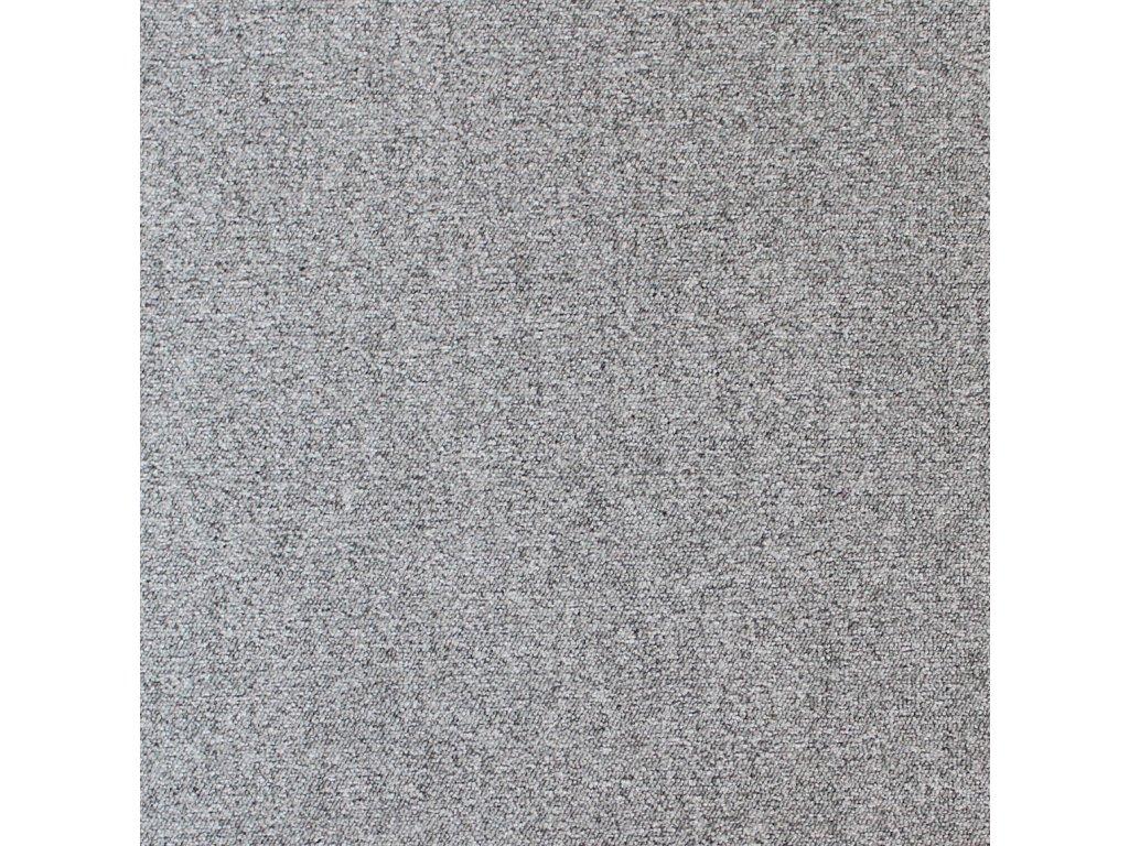 BEST-kobercové čtverce, 100%PA, 50x50cm, třída zát.33, barva 72 světle šedá, nehoř. Bfl-s1