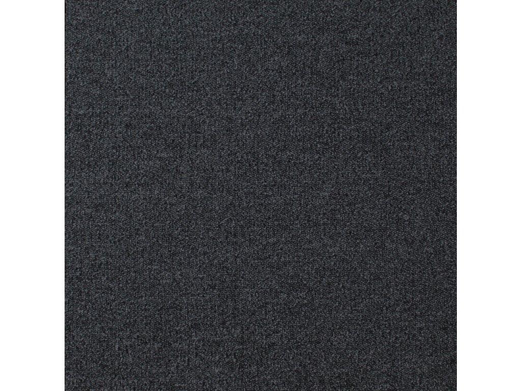 BEST-kobercové čtverce, 100%PA, 50x50cm, třída zát.33, barva 78 černá, nehoř. Bfl-s1