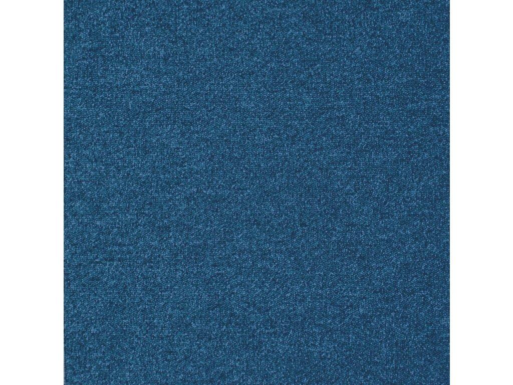 BEST-kobercové čtverce, 100%PA, 50x50cm, třída zát.33, barva 84 tmavě modrá, nehoř. Bfl-s1