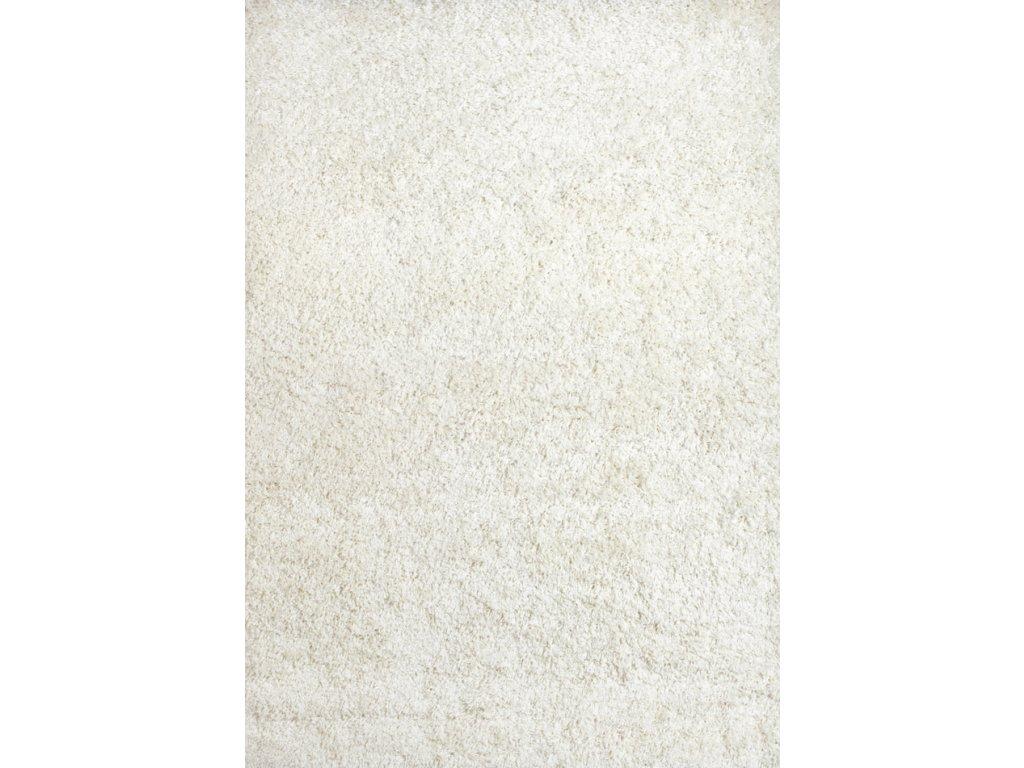 Shaggy Plus 60 x115 cm,  barva 963 white