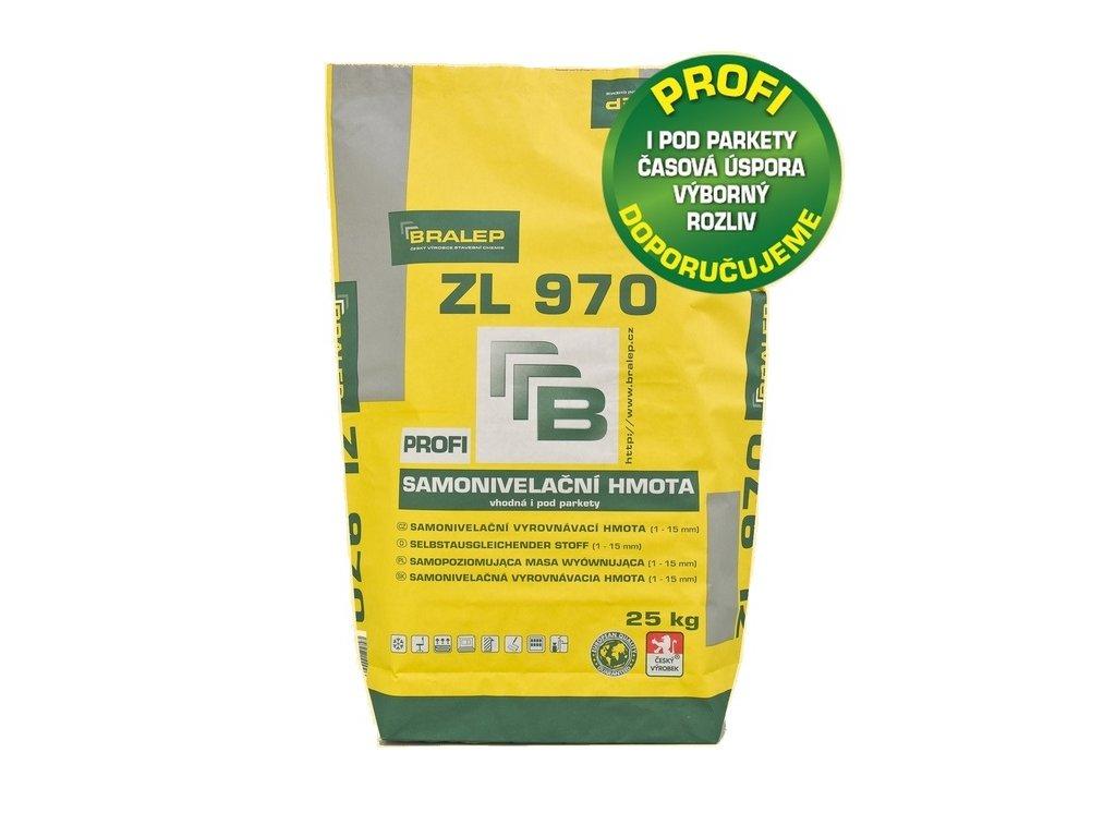 BRALEP ZL 970-rychletuhnoucí cementová stěrka - 25 Kg