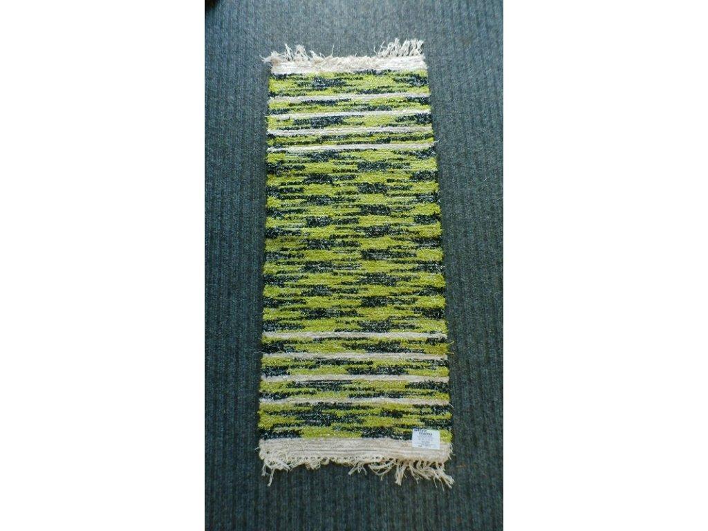 KOBERKA - ručně tkaný koberec, 50x120cm - skladem 1 ks