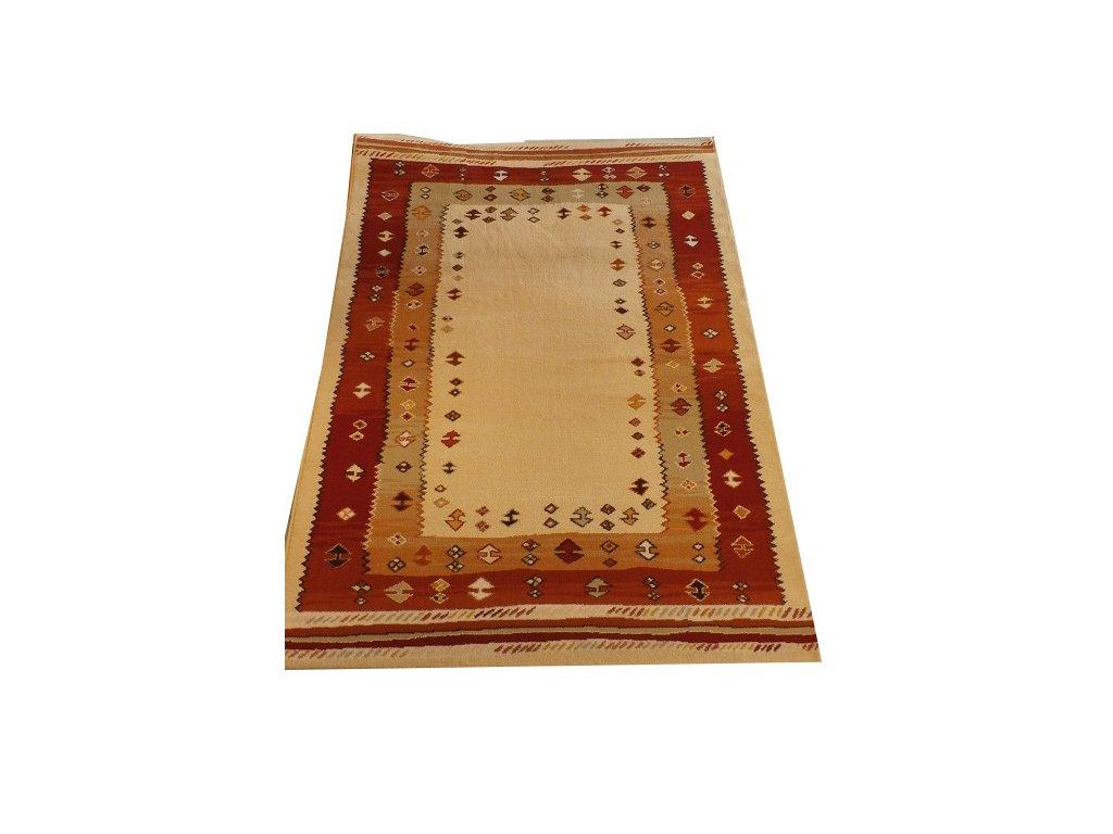 MISTRAL 120 x 170 cm, barva 8282/57 béžová - indiánský vzor