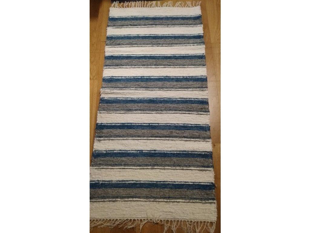 KOBERKA - ručně tkaný koberec  70x150cm - skladem 1 ks
