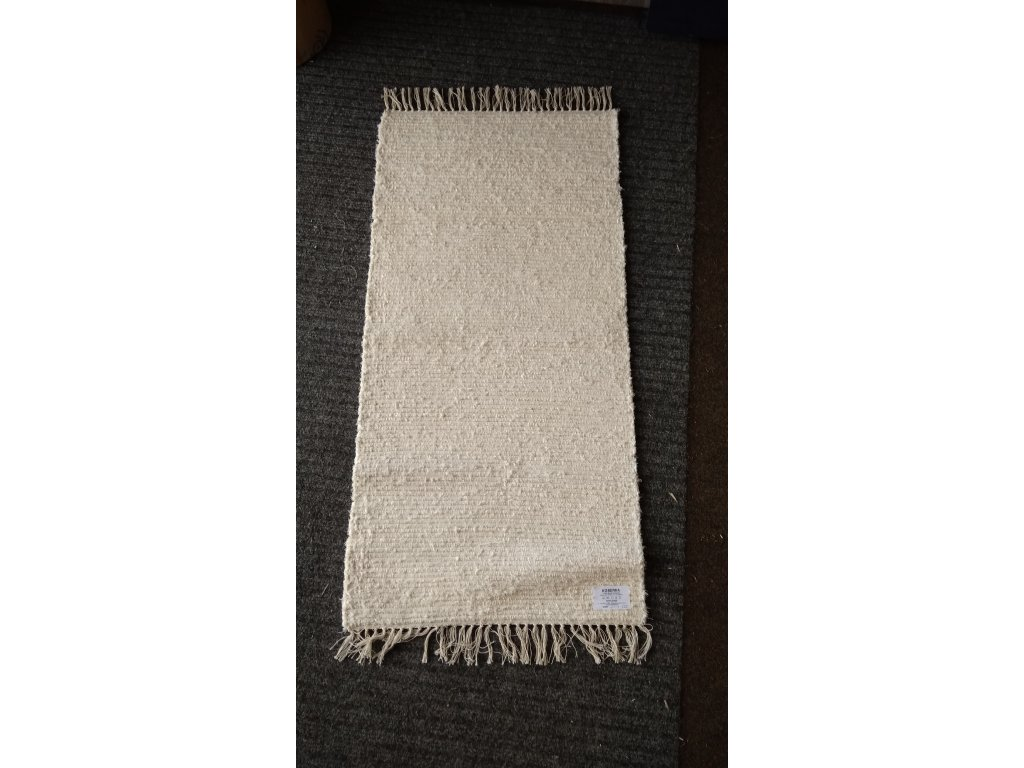 KOBERKA - ručně tkaný koberec, 60x120  - skladem 1ks