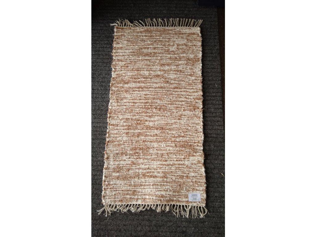 KOBERKA - ručně tkaný koberec, 60x120 cm - skladem 2ks