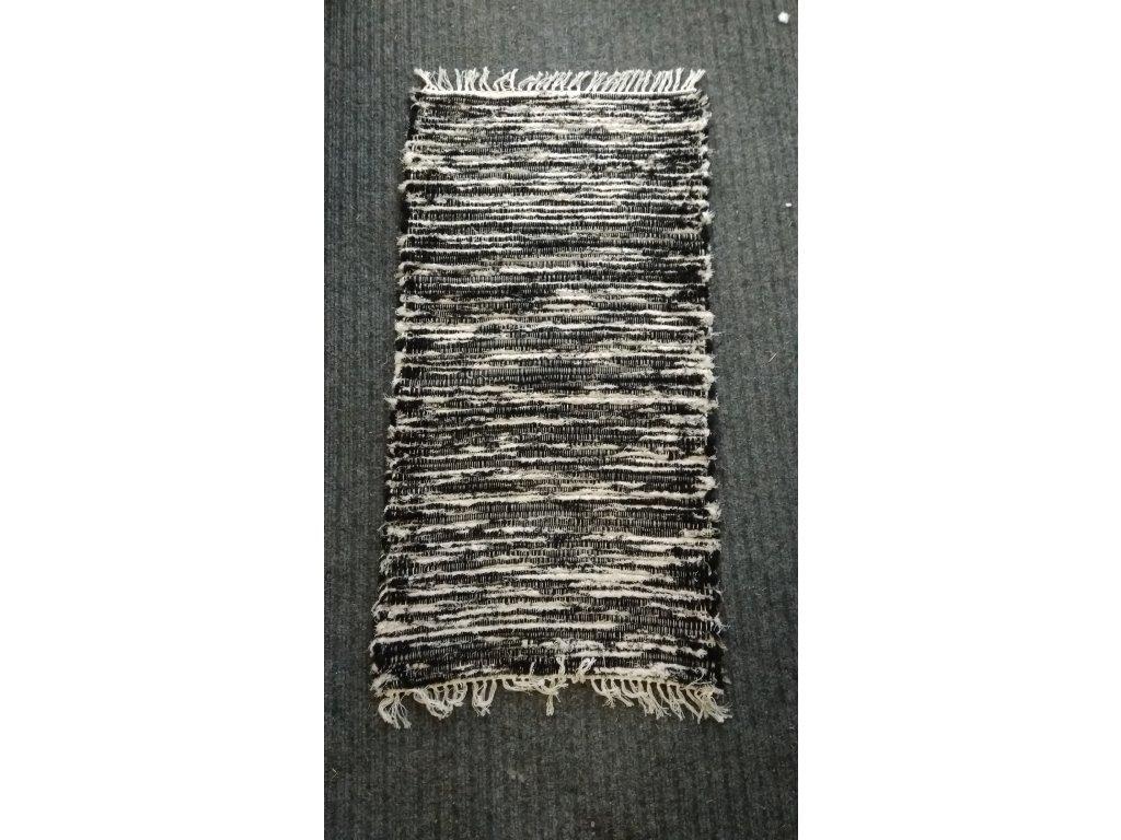 KOBERKA - ručně tkaný koberec, 60x120 cm  - skladem 1 ks