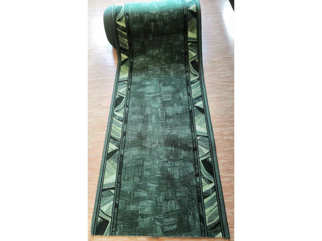 Běhoun Zelený 80cm, guma