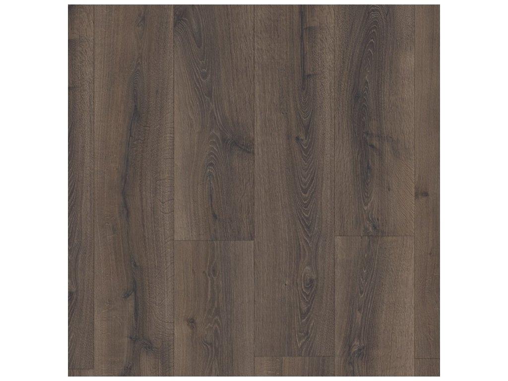 QUICK STEP MAJESTIC - Pouštní dub kartáčovaný tmavě hnědý