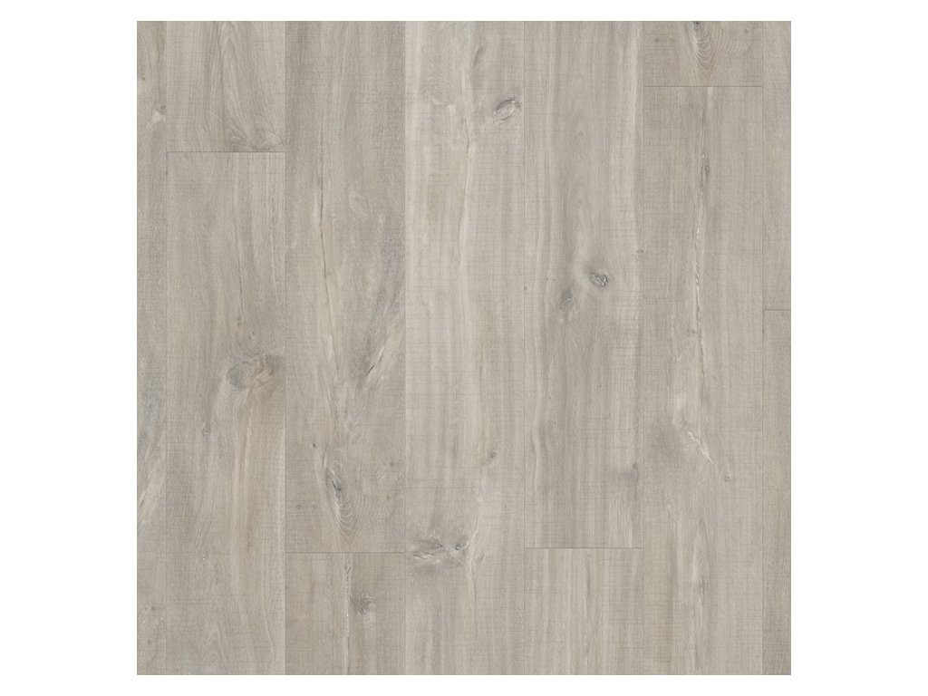 Quick-step LIVYN BALANCE CLICK  V4, kaňonový dub šedý s řezy pilou