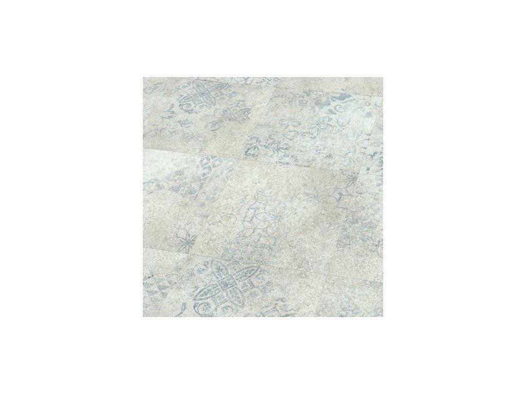 Objectflor Expona Domestic P11 5869 Blue Stencil Concrete