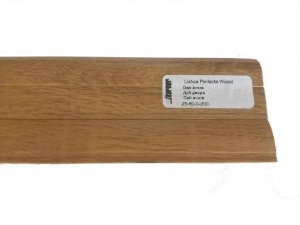 Lišta soklová Korner Perfecta wood