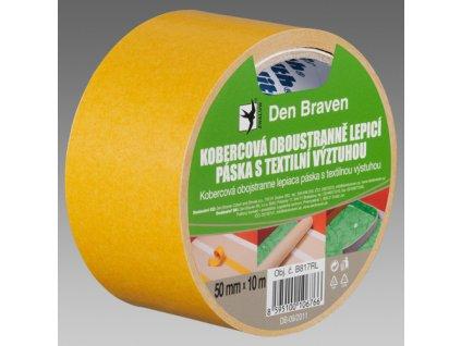 Oboustranná lepící páska - 25bm - s textilní výztuhou