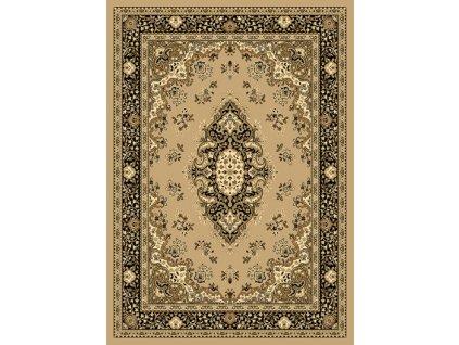 SAMIRA NEW 60 x 110 cm, barva 12001-050 béžová, perský vzor se středem - doprodej