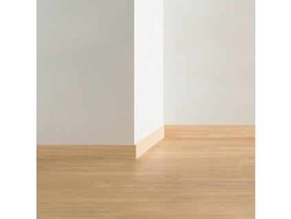 Soklová lišta Quick Step dřevěná-  77*14*2400