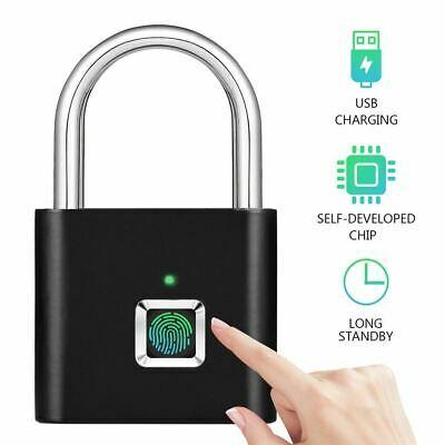 USB-Rechargeable-Smart-Keyless-Electronic-Fingerprint-Lock-Home