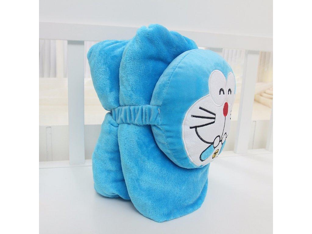 Rozprávková deka - mačka