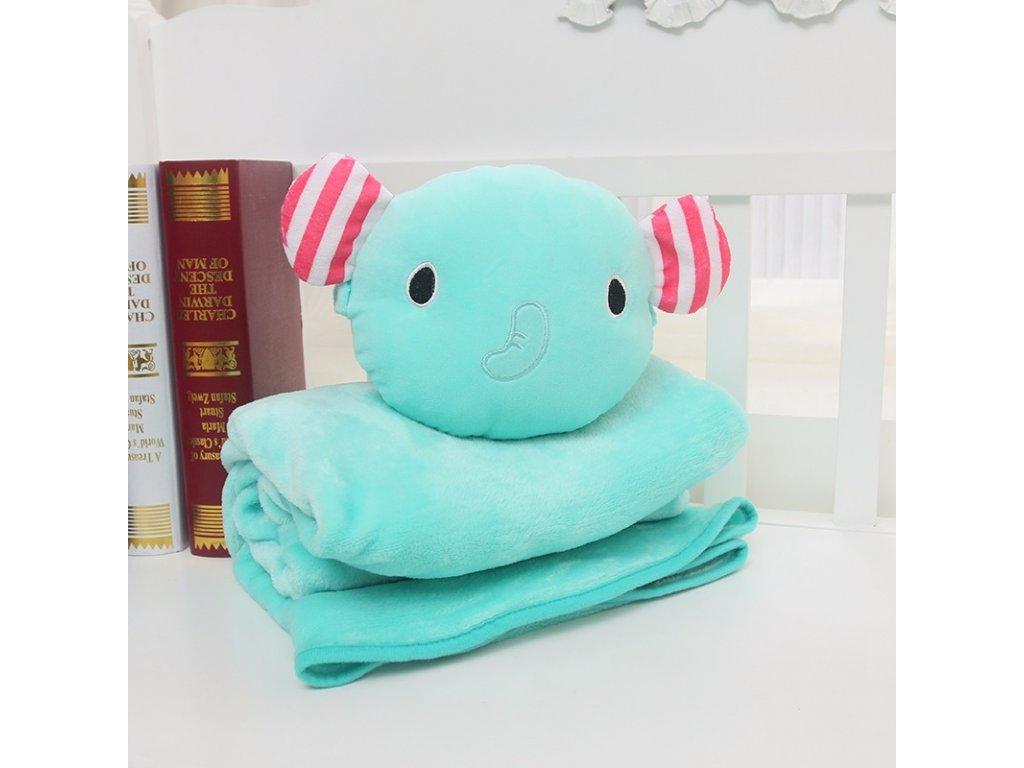 Rozprávková deka - slon