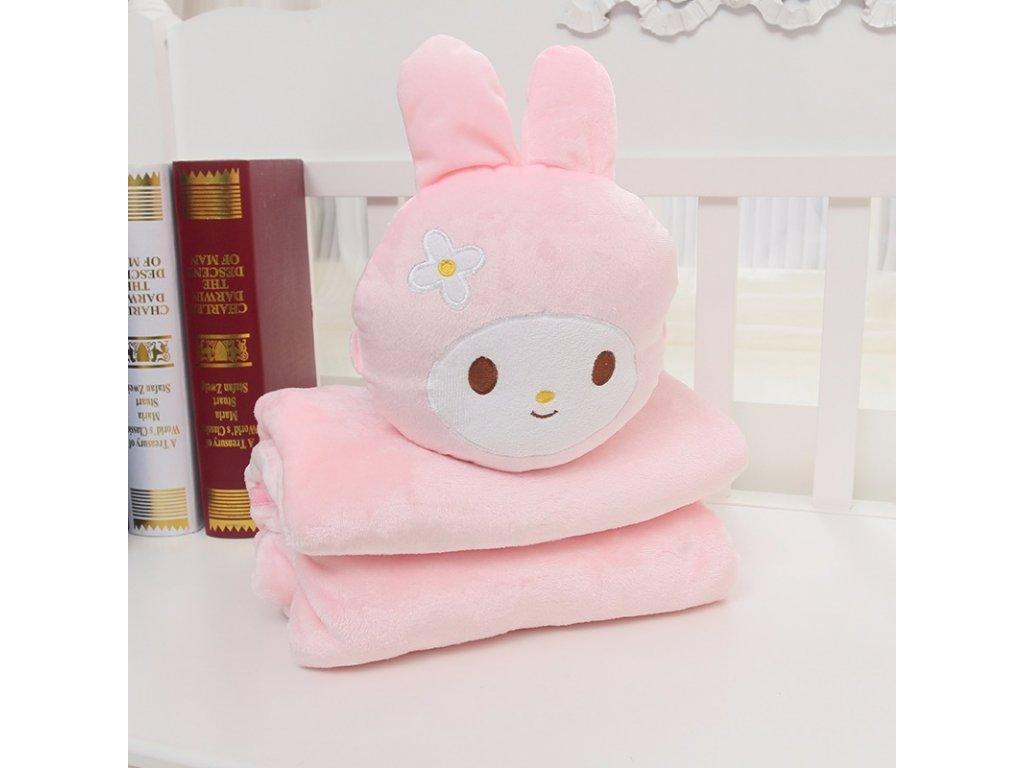 Rozprávková deka - zajac