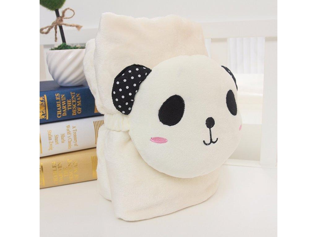 Rozprávková deka - panda